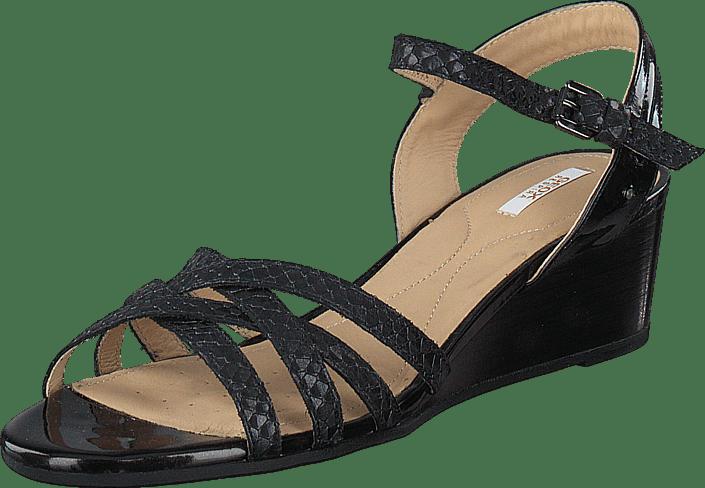 Kjøp Online Sandals Geox Black Sko Beige Lupe 8O6q80