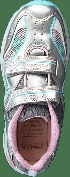 Geox - Shuttle Girl Silver/Pink