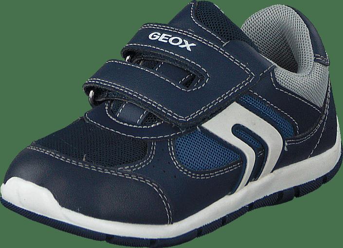 Geox - Shaax Boy Dk Navy/Lt Grey