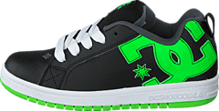 Dc Kids Court Graffik Shoe Blk/Grs