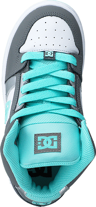 DC Shoes - Dc Kids Rebound Shoe Grey/Blue/White