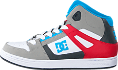 Dc Kids Rebound Shoe Grey/Grey/Red