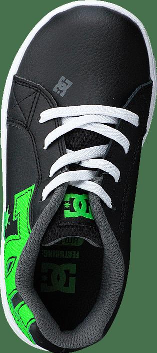 DC Shoes - Dc Court Graffik Elastic Black/Green/White