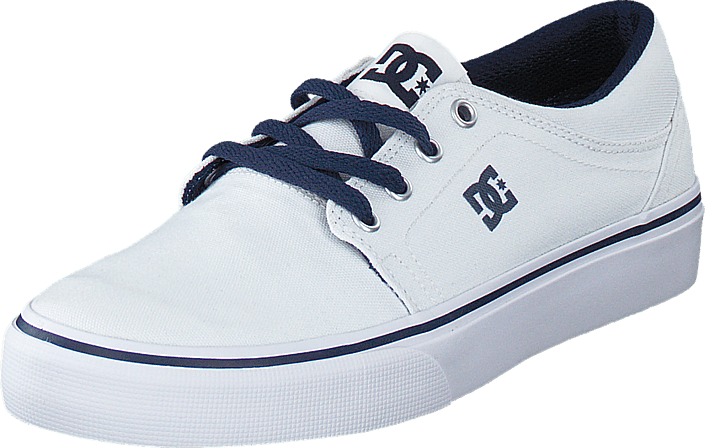 Dc Kids Trase Tx Shoe White/Navy