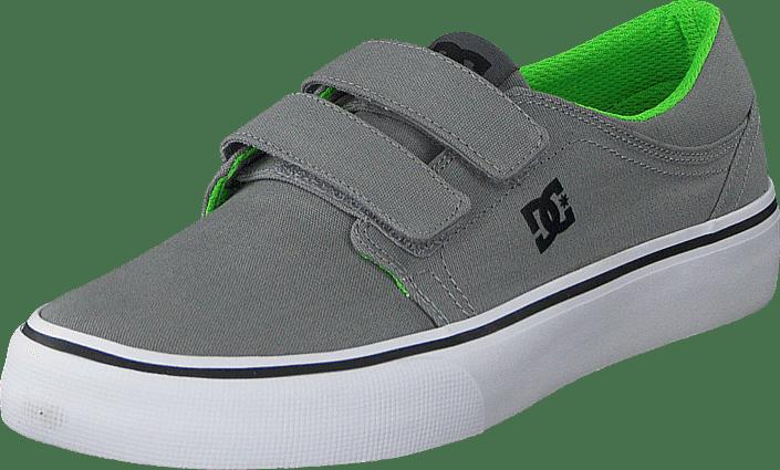 Dc Kids Trase V Shoe Grey/Black/Green