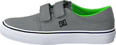Dc Kids Trase V Shoe Grey/Black/Green