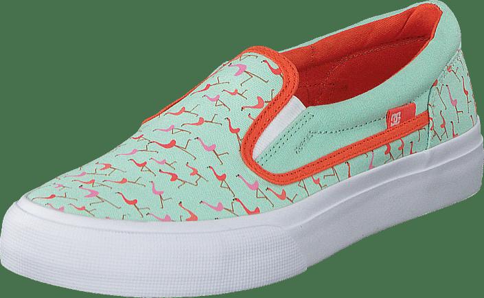Dc Kids Trase Slip-On Shoe Misty Blue