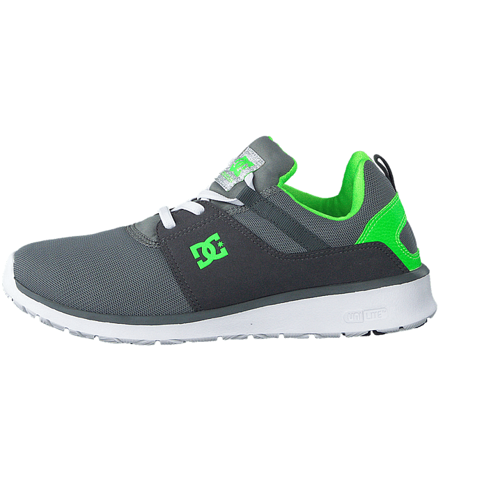 Kjøp DC Shoes Dc Kids Heathrow Shoe GreyWhiteGreen sko