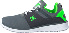 Dc Kids Heathrow Shoe Grey/White/Green