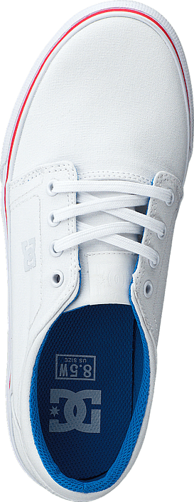 Kjøp Dc Shoes Trase Tx White/blue/red Sko Online