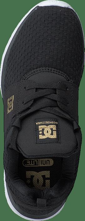 DC Shoes Dc Heathrow Se J Shoe Black/Gold 215487793