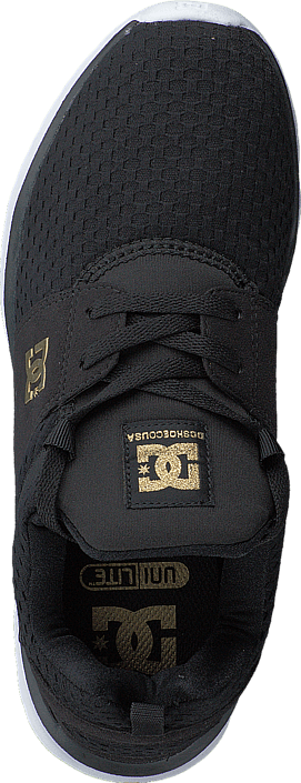 DC Shoes - Dc Heathrow Se J Shoe Black/Gold