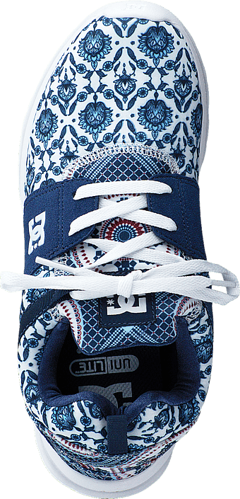 DC Shoes Dc Heathrow Se J Shoe Blue Prt 215487793