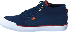Dc Evan Smith Hi M Shoe Navy/Gold