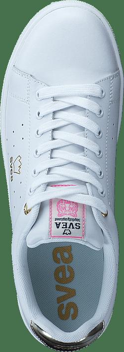 Køb 55117 Online Sneakers 34 Hvide Sportsko 02 gold Sko Svea Båstad White 1 Og gqx7grz