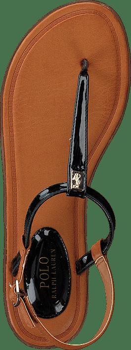 Ralph Lauren Junior - Gala Black Patent - Gold