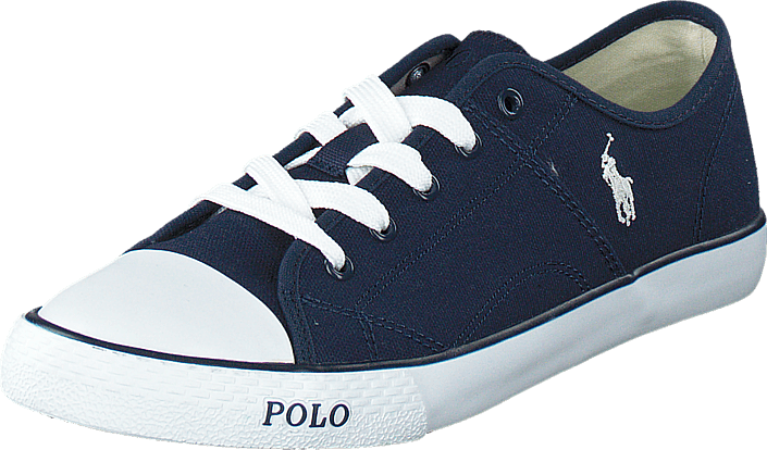 Ralph Lauren Junior - Daymond Navy Canvas -White