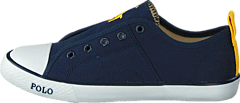 Raymond Slip On Kids Navy Canvas