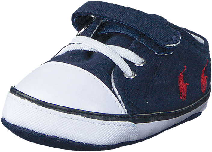 Kody Layette Navy Canvas - Red