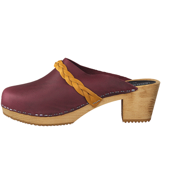 50076abe1bd Buy Mohedatoffeln Ester Pull Up Bordeaux Mustard Brown Shoes Online ...