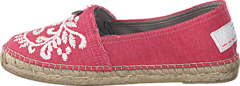 Oddspadrillos Embroidered Misty Pink