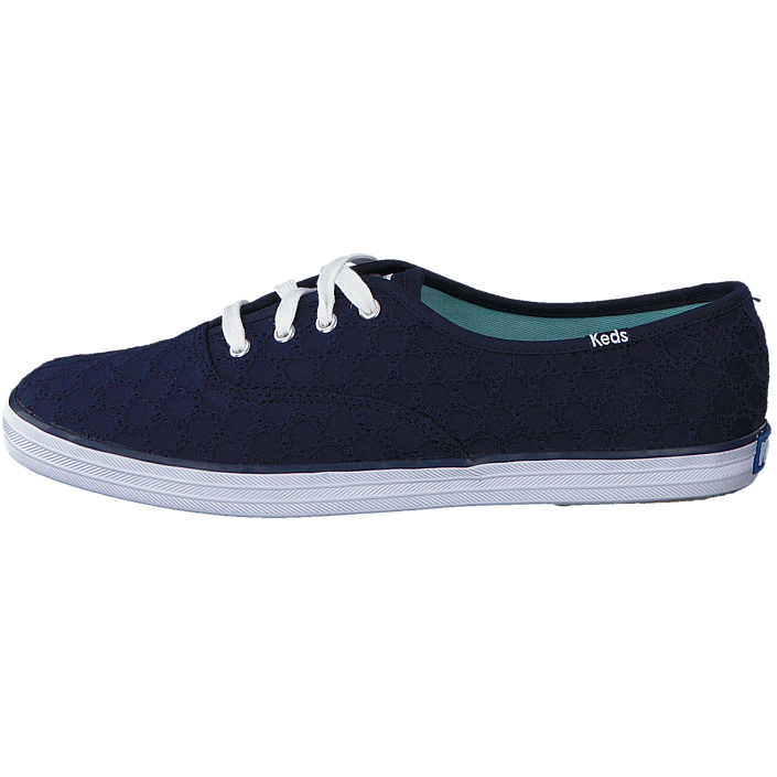 Kjøp Keds Triple Seasonal Solid Peacoat Navy blå Sko Online