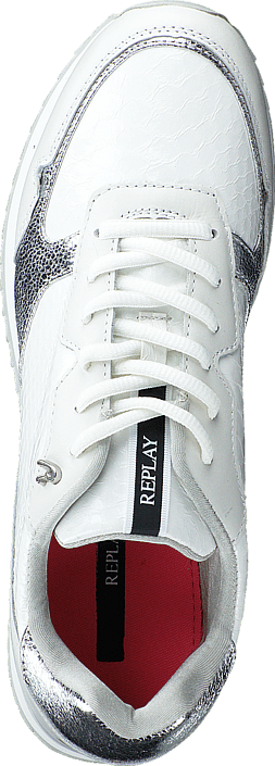 Replay - Whitfeild White/Silver