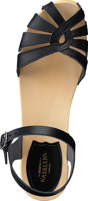 nature Sko Online Debutant Kjøp Swedish Cross Grå Hasbeens Heels Black Sole pqWXSOya