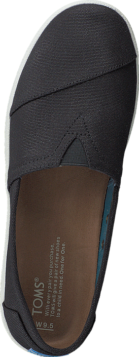 Women's Avalon Slipon Coated Canvas Black