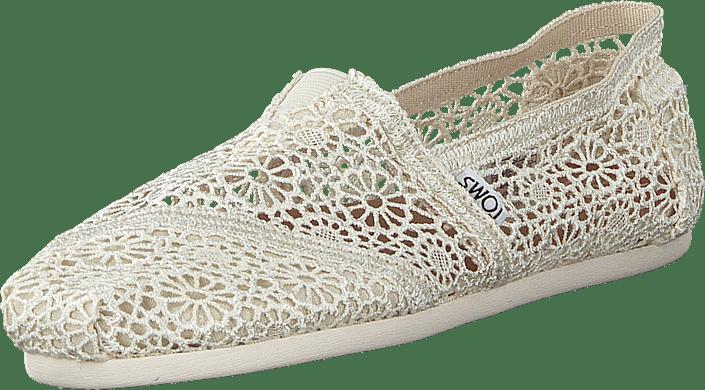 Toms - Women's Classic Alpargata Moroccan Crochet Neutral