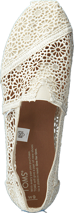 Women's Classic Alpargata Moroccan Crochet Neutral