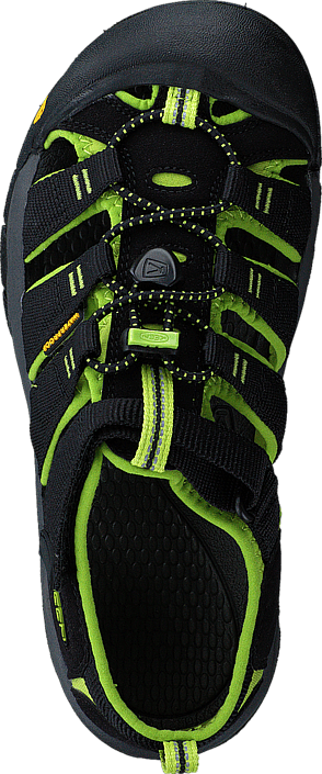 Keen - Newport H2-Jr Black/Lime green