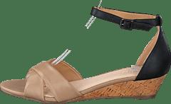 bea14152eff Bianco - Low Wedge Sandal Beige