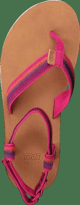 Kjøp Teva W Original Sandal Ombre Raspberry Sko Online
