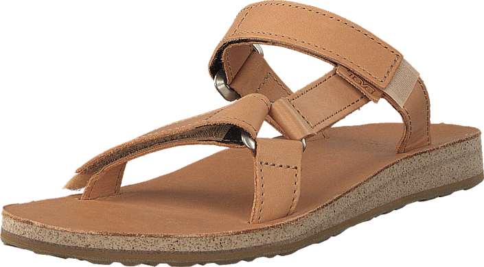 7b670c8b2 Buy Teva W Universal Slide Leather Tan brown Shoes Online