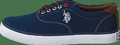 Kjøp U.S. Polo Assn Dalan 6 Canvas Dark Blue sko Online