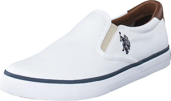U.S. Polo Assn - Leroy 1 Canvas White