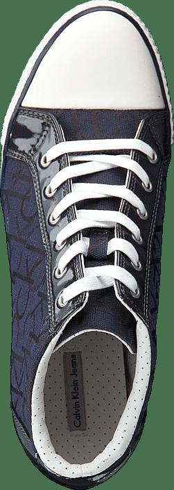 Calvin Klein Jeans - VERO CK LOGO JACQUARD/PATENT BBM