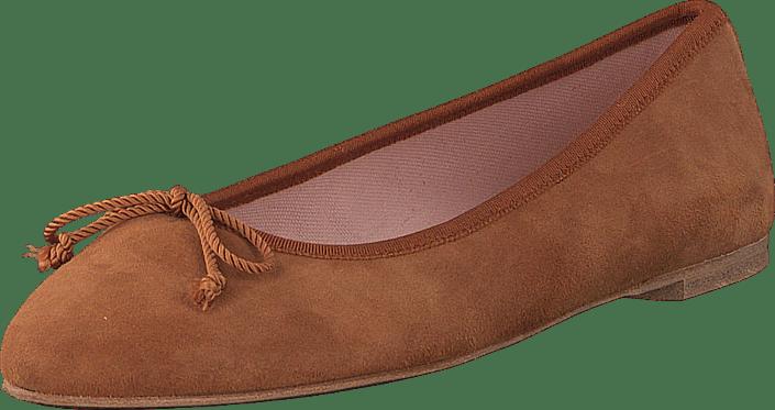 Pretty Ballerinas - 44922 Brown Suede