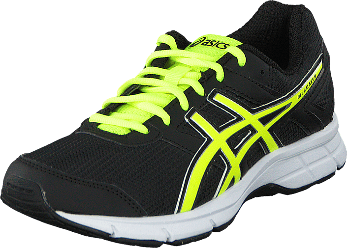 2f4ae0cfdea4 Buy Asics Gel Galaxy 8 Gs Black/Flash Yellow/White black Shoes ...