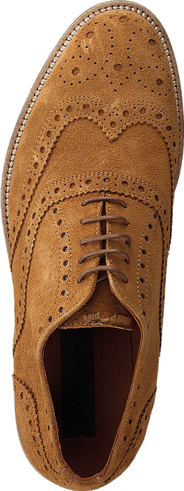 Kjøp Hush Puppies Carl Brogue Cognac Sko Online