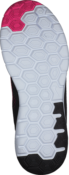 Nike - Wmns Nike Flex Experience Rn 4 Black/Pink Foil-White