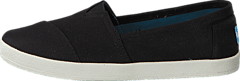Avlon Slip-On Black Coated Canvas