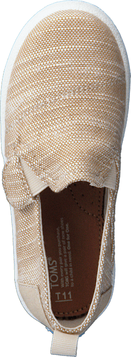 Toms - Avlon Slip-On Natural Slubby Linen