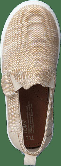 Toms - Avlon Slip-On Natural Slubby Linen