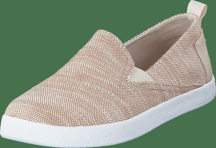 Avlon Slip-On Jr Natural Slubby Linen