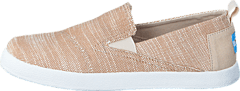 Avlon Slip-On Jr Natural Slubby Linen