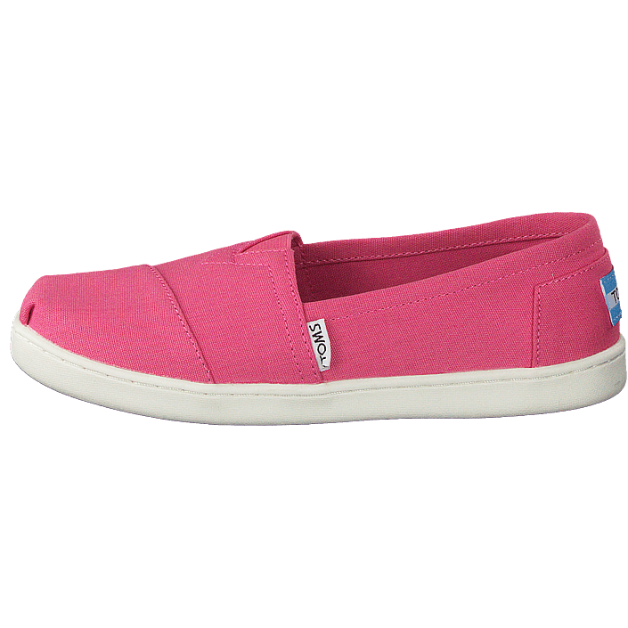 the best attitude 5514d 97485 Köp Toms Seasonal Classics Jr Bubblegum Pink Canvas rosa Skor Online ...