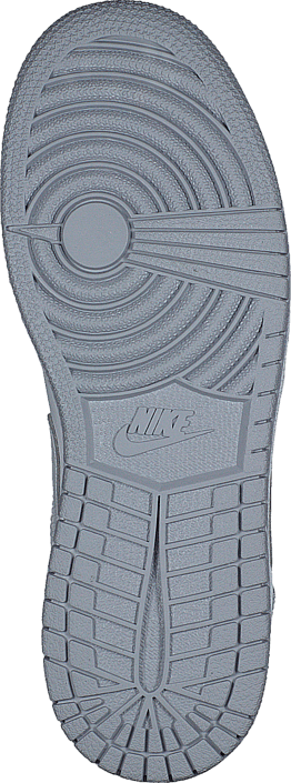 new style 157b6 16f66 Nike - Air Jordan 1 Mid Bg White Wolf Grey