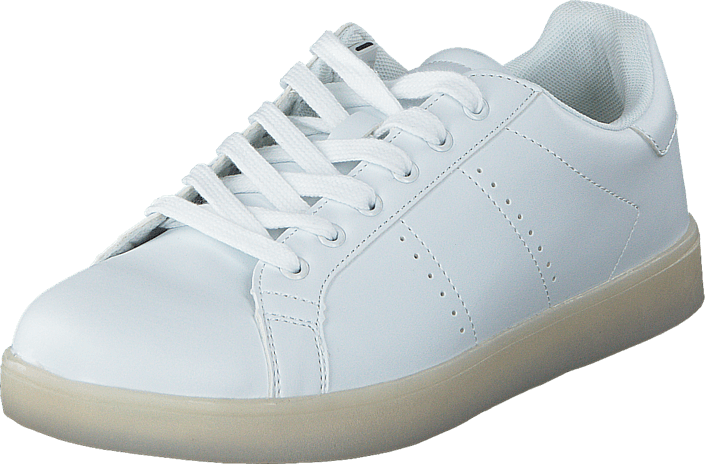 LED Sneakers Men White